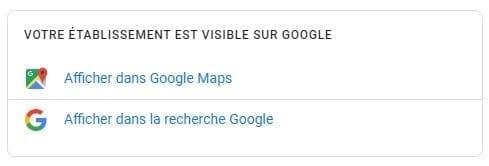 Afficher votre fiche d'entreprise dans la recherche Google